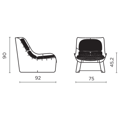 Poltronova_Plasma_disegni-tecnici
